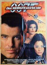 James Bond 007 DER MORGEN STIBT NIE original Mediatheken Plakat A1