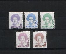 NEDERLAND ; NVPH 1491b/1501b zelfklevende zegels (doorgestanst!) Postfris/**/MNH