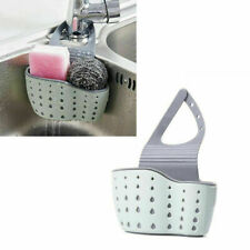 Sink Sponge Drain Rack with Adjustable Strap Sink Area Organizer Sink Soap Shelf