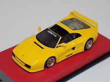 1/43 BBR Ferrari Koenig F48 Spider in  Yellow.  BBR212B.    GP130