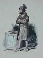 Incisione Solleva Auguste-Alexandre Guillaumot C.1841