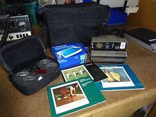 Vintage POLAROID SPECTRA SYSTEM INSTANT CAMERA + Spectra Special Filters L@@K
