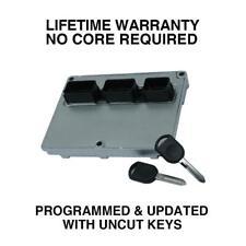 Engine Computer Programmed with Keys 2003 Lincoln Navigator 3L7A-12A650-DA DPU0