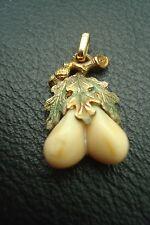 Antiker Grandelschmuck Anhänger 585 Gold
