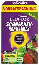 """Celaflor """"Schneckenkorn Limex"""" 4 x 250 g, bekämpft Nacktschnecken, Metaldehyd"""