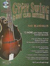 Gypsy Swing & Hot Club Rhythm II for Mandolin [With CD (Audio)] (Mixed Media Pro