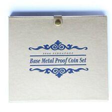 2004 SINGAPORE PROOF SET 6 COINS  COA &  BOX (3311575D5)