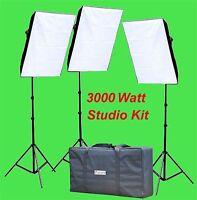 Chromakey Green Screen Video Lighting Kit 3000watt S
