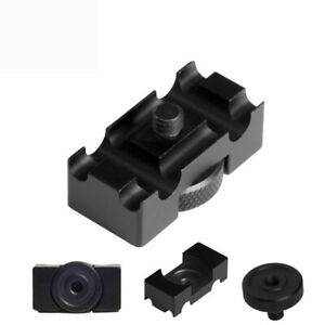 Aluminum Alloy Tether Holder Cable Lock Clip Clamp Mount for DSLR Camera J t.RI