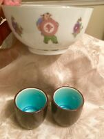 Lot Of Rice Bowl 2 Sake Cups