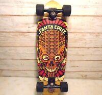 SANTA CRUZ Skateboards Vintage Mars Attacks Alien Deck Long Board w/ Slime Balls