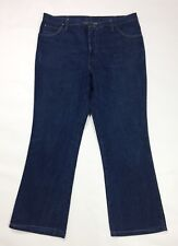 Wrangler jeans uomo usato w42 tg 56 bootcut a zampa retro svasati denim T3650