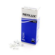 10x Neolux 12v 'Trade' 1.2w T5 W2x4.6d 286 Mini-Wedge Instrument Bulbs Lights