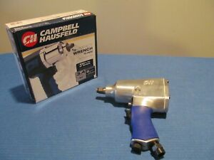 """CAMPBELL HAUSFELD TL1402 IMPACT WRENCH 1/2"""" DRIVE NEVER USED 550 FT LBS VSR"""