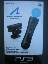 SONY PS3 PLAYSTATION MOVE FRIENDLY PACK (PS3 USB CAMERA & MOTION CONTROLLER)