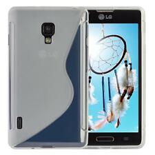 LG Optimus L7 II P710 Silicon TPU Phone Case Cover Transparent