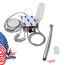 Top Portable Dental Turbine Unit Compressor High Speed Handpiece Push 3w 4hole