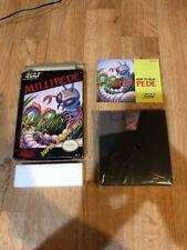E2) Vintage Millipede Complete Nes Nintendo Game 1985-1988 Japan