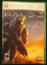 Halo 3 (Microsoft Xbox 360, 2007) inc Halo Essentials Bonus Discs