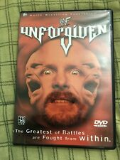 Wwf Unforgiven 2001 Dvd Like New