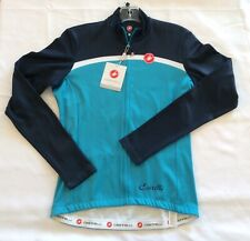 Castelli womens Donna Velocissma 2  Long Sleeve Cycling Jersey Size Large *NEW*