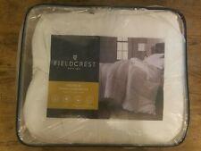 Fieldcrest Down Comforter Queen Size White 100% Cotton
