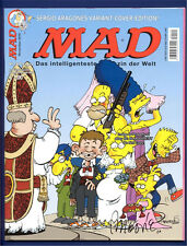 1 MAD Magazine 136 RRP Variant Signed Aragones Simpsons
