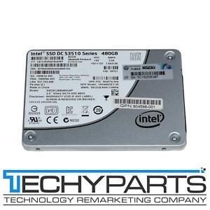 """HPE 804574-004 Intel 480GB SSD DC S3510 Series 2.5"""" SATA3 6G SSDSC2BB480G6P"""
