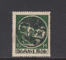 DR, 1920 Freimarke mit Aufdruck 137 PF XIII gestempelt, Befund, (25426)