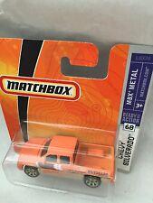MATCHBOX CHEVY SILVERADO NEU NEW OVP L0374