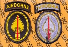 USSOCOM Special Operations Command Airborne TASK FORCE SWORD TFS patch