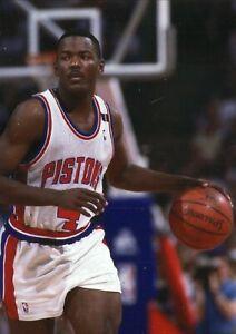 Joe Dumars--Detroit Pistons--5X7 Glossy Color Photo