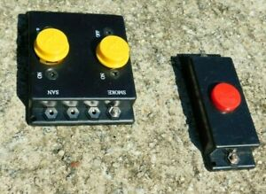 K-line Accessary Red Control Button & Dual Yellow Button Slide Switch Control