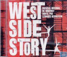 West Side Story + CD + Musical Original Broadway + Leonard Bernstein + NEU + OVP