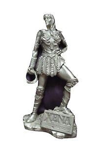 "Xena pewter Figurine. 7"". Taller"