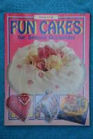 Family Circle FUN CAKES for Special Occasions~RARE~ FAMILY/PARTIES Original-Best