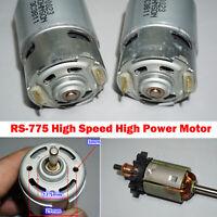 DC 12 V-18 V High Speed Power Motor RS-775 Elektrowerkzeug Motor 5mm Ersatzteile