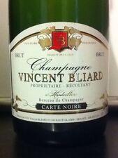 6 BT.CHAMPAGNE CARTE NOIRE VINCENT BLIARD bio dal 1970