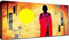 Quadro Moderno Cm 100x50 Stampa Tela Arredamento Arte Etnico Casa Africa Arredo