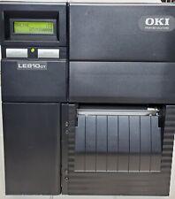 Oki LE810DT 92304105 Direct Thermal Label Printer - 24.4M lifetime counter!