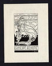 04)Nr.004- EXLIBRIS- A. Rubino