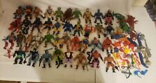 LOT 40 He Man MOTU Masters Universe Vintage Action Figures Accessories Weapons