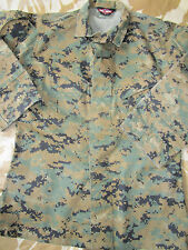 Tru Spec USMC woodland MARPAT army SHIRT sas tactical MARINES airsoft Small  VGC 404e9e1056d9
