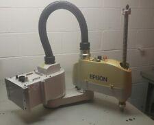 Epson Seiko E2s451sm 4 Axis Scara Robot E2s451 E2 Multi Mount Robots 2003 Side