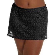 75271758252c8 Catalina Women s Plus Size Crochet Skirted Swimsuit Bottom Rich Black 3x