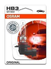 OSRAM HB3 12V GLOBE (SINGLE) in blister pack 9005-01B