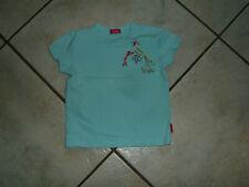 *3 Super T-Shirt PAMPOLINA Gr.80 türkis blau Garden Birds