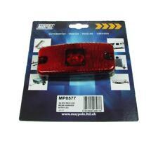 Lamp - 10-30v Red LED Rear Marker & Reflex Dp - Mp8577 Maypole 1030v FREE P&P