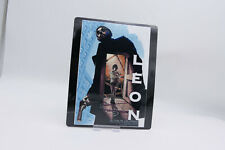 LEON THE PROFESSIONAL  - Glossy Bluray Steelbook Magnet Cover (NOT LENTICULAR)