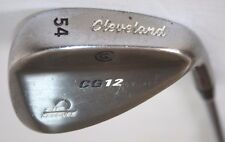 Cleveland CG12 Zip Grooves Black Pearl 54 degree wedge with Project X 6.0 shaft